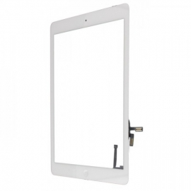Vitre tactile iPad Air - Blanc