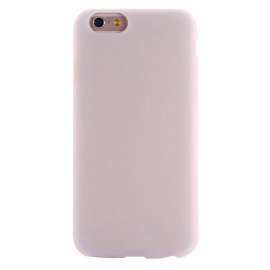 Housse silicone iPhone 6 / 6S - Blanc transparent