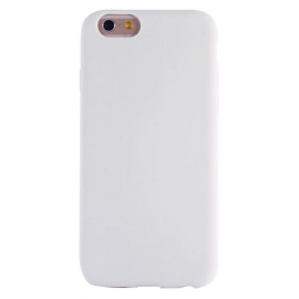 Housse silicone iPhone 6 / 6S - Blanc