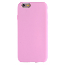 Housse silicone iPhone 6 / 6S - Rose clair