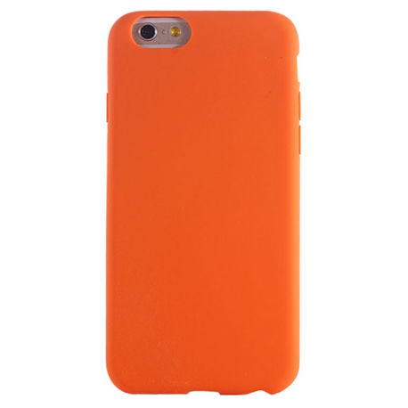 Housse silicone iPhone 6 / 6S - Orange