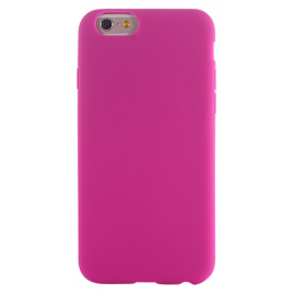 Housse silicone iPhone 5 / 5S / SE - Fuchsia