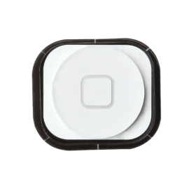 Bouton Home iPhone 5 - Blanc