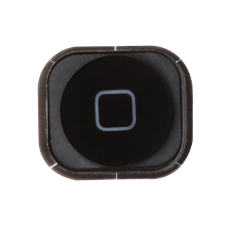 Bouton Home iPhone 5 - Noir