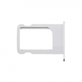 Tiroir / Rack SIM iPhone 5 - Argent