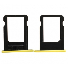 Tiroir / Rack SIM iPhone 5C - Jaune